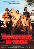 The Texas Chain Saw Massacre - German Movie Poster (xs thumbnail)