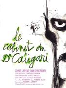 The Cabinet of Caligari - French Movie Poster (xs thumbnail)