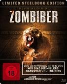 Zombeavers - German Movie Cover (xs thumbnail)