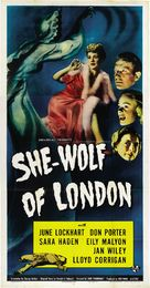 She-Wolf of London - Theatrical movie poster (xs thumbnail)