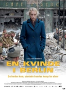 Anonyma - Eine Frau in Berlin - Danish Movie Poster (xs thumbnail)