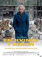 Anonyma - Eine Frau in Berlin - Danish Movie Poster (xs thumbnail)