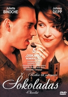 Chocolat - Lithuanian Movie Cover (xs thumbnail)