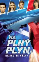 Michel Vaillant - Czech VHS cover (xs thumbnail)