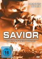 Savior - German DVD cover (xs thumbnail)
