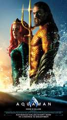 Aquaman - Singaporean Movie Poster (xs thumbnail)