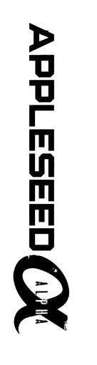 Appleseed Alpha - Logo (xs thumbnail)