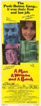 A Man, a Woman and a Bank - Movie Poster (xs thumbnail)