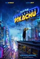 Pokémon: Detective Pikachu - Dutch Movie Poster (xs thumbnail)