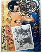 Tarzan's Revenge - Spanish Movie Poster (xs thumbnail)