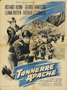 A Thunder of Drums - French Movie Poster (xs thumbnail)
