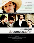 Do Começo ao Fim - Brazilian Movie Poster (xs thumbnail)