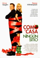 Four Christmases - Spanish Movie Poster (xs thumbnail)