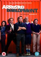 """Arrested Development"" - British DVD movie cover (xs thumbnail)"