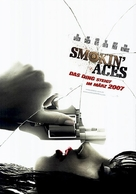Smokin' Aces - German Movie Poster (xs thumbnail)