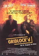 Gridlock'd - German Movie Poster (xs thumbnail)