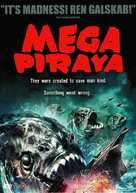 Mega Piranha - Danish DVD cover (xs thumbnail)