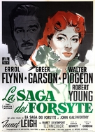 That Forsyte Woman - Italian Movie Poster (xs thumbnail)