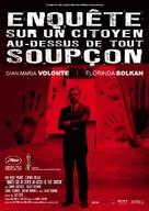 Indagine su un cittadino al di sopra di ogni sospetto - French Movie Poster (xs thumbnail)