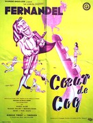 Coeur de coq - French Movie Poster (xs thumbnail)