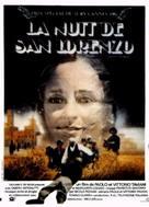 La notte di San Lorenzo - French Movie Poster (xs thumbnail)