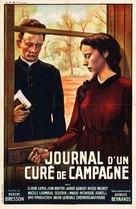Journal d'un curé de campagne - French Movie Poster (xs thumbnail)