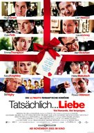 Love Actually - German Movie Poster (xs thumbnail)