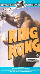 King Kong - Finnish VHS movie cover (xs thumbnail)