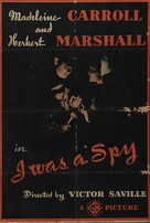I Was a Spy - British Movie Poster (xs thumbnail)