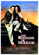 Bull Durham - Spanish Movie Poster (xs thumbnail)