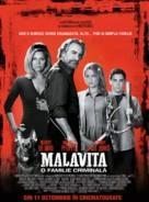 The Family - Romanian Movie Poster (xs thumbnail)