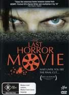 The Last Horror Movie - Australian DVD cover (xs thumbnail)