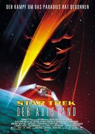 Star Trek: Insurrection - German Movie Poster (xs thumbnail)