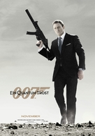 Quantum of Solace - German Movie Poster (xs thumbnail)