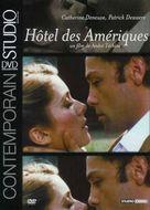 Hôtel des Amèriques - French DVD cover (xs thumbnail)