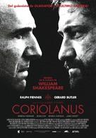 Coriolanus - Spanish Movie Poster (xs thumbnail)
