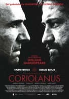 Coriolanus - Spanish Movie Poster (xs thumbnail)