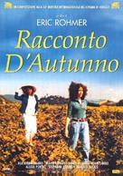 Conte d'automne - Italian poster (xs thumbnail)