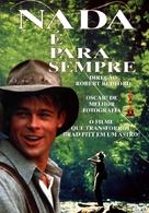 A River Runs Through It - Brazilian DVD cover (xs thumbnail)