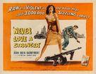 Never Love a Stranger - Movie Poster (xs thumbnail)