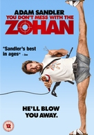 You Don't Mess with the Zohan - British DVD cover (xs thumbnail)