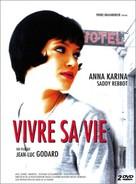 Vivre sa vie: Film en douze tableaux - French DVD cover (xs thumbnail)