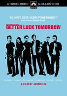 Better Luck Tomorrow - DVD cover (xs thumbnail)