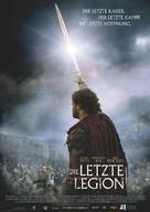The Last Legion - German Movie Poster (xs thumbnail)