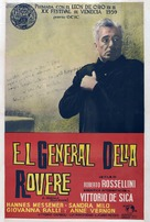 Il generale della Rovere - Argentinian Movie Poster (xs thumbnail)