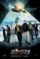 X-Men: First Class - Icelandic Movie Poster (xs thumbnail)