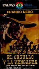 Uomo, l'orgoglio, la vendetta, L' - Spanish Movie Cover (xs thumbnail)