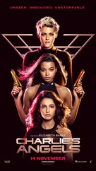 Charlie's Angels - Malaysian Movie Poster (xs thumbnail)