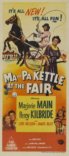 Ma and Pa Kettle at the Fair - Australian Movie Poster (xs thumbnail)