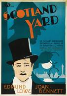 Scotland Yard - Swedish Movie Poster (xs thumbnail)